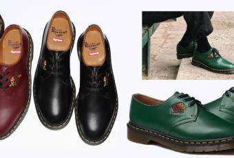Supreme x Dr. Martens ส่งต่อความน่ารักกับรองเท้าหนังปักลาย