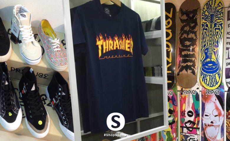 รวม 7 ร้านสายสตรีทครบทั้งแฟชั่นและอุปกรณ์กีฬา Skateboard