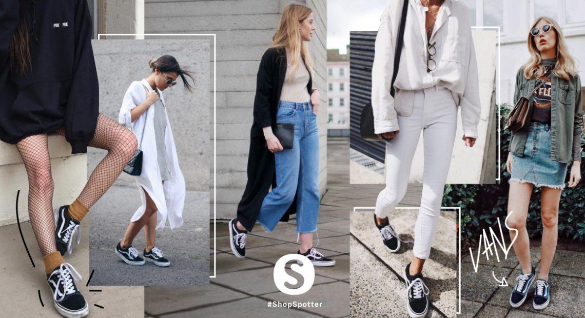 ใส่รองเท้าผ้าใบ VansOld Skool ยังไงให้คูล! สไตล์ #Vansgirls