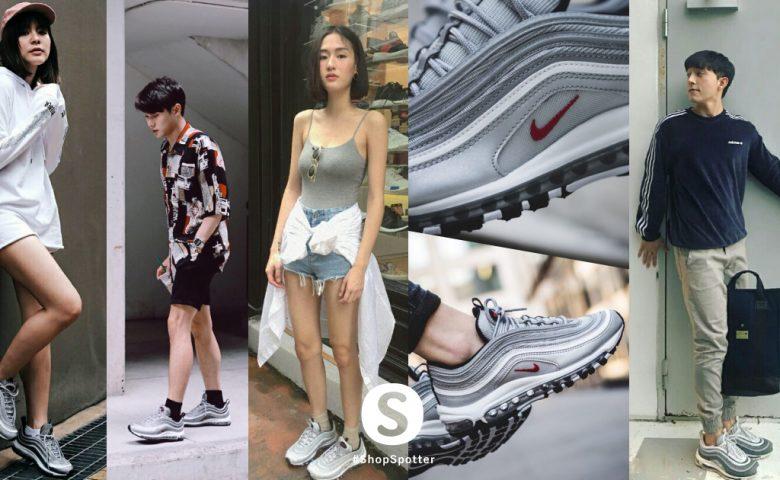 รวม 10 ลุคสุดเท่ของเหล่า Instagram Idol กับ Nike Air Max 97 OG สุดฮอต