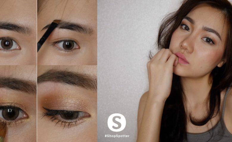Makeup เปลี่ยน 'สาวหมวย' เป็น 'สาวผิวแทน' ให้ฮอตกว่าเดิม