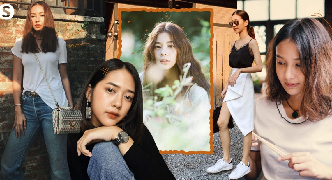 'ไอเดียผมแสกกลาง' สุดคลาสสิค สวยชิคตามสไตล์สาวไทย