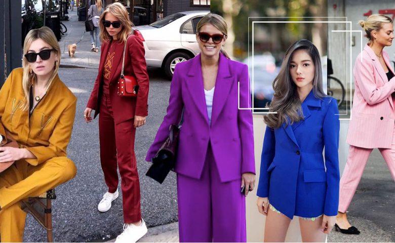 Suit Colors แต่งตัวไปทำงาน ให้สนุกสุดเหวี่ยงด้วยสีสันสุดจี๊ด