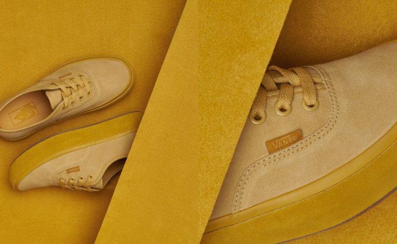 พลิกโฉม Vans Authentic และ Slip on ด้วยวัสดุหนังกลับและสีเหลืองที่เรารัก!