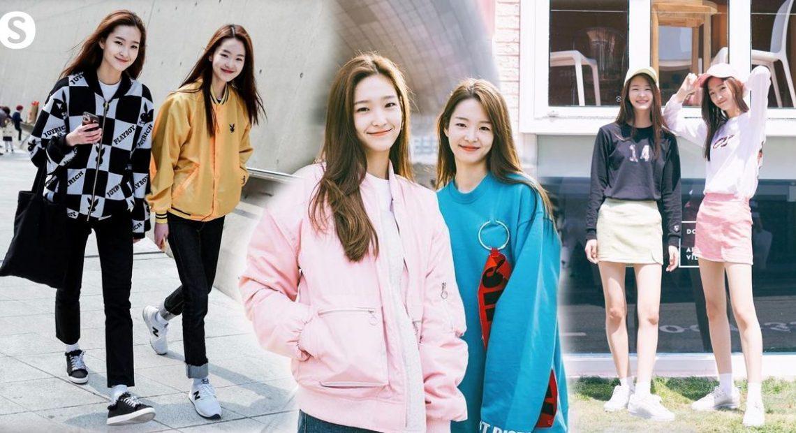 Twinning Matching ส่องลุคสุดน่ารักของสองนางแบบฝาแฝดมาแรงแห่ง Seoul Fashion Week