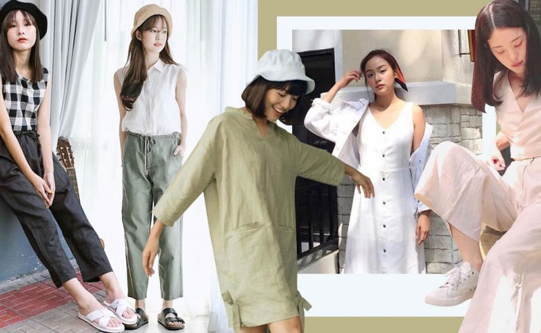 Minimal Linen Set เป็น สาวมินิมอล ง่ายๆ ด้วยการคุมโทนผ้าลินินทั้งชุด