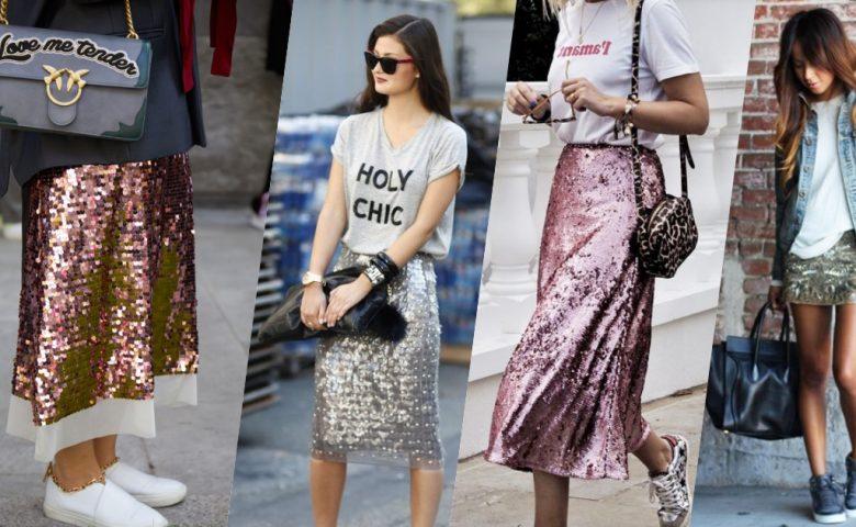 ป้ายยาไอเท็มเด็ด 'Glitter Skirt' ใส่ไปทำงานและพร้อมไปปาร์ตี้ต่อ
