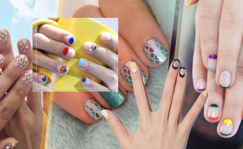 รวม 55 Summer Nail Art มาส่องลาย + สีเล็บ ให้สดใสชุ่มชื่นใจกันดีกว่า