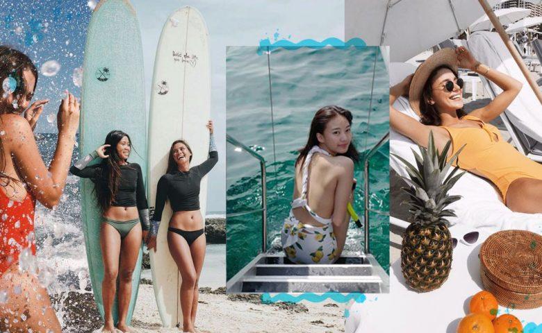 """5 ไอเดีย """"ถ่ายรูปเที่ยวทะเล"""" แบบคูลๆ โชว์ไลฟ์สไตล์ใครๆ ก็อิจฉา"""