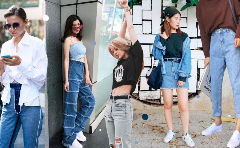 ไอเดียการแมทช์ ยีนส์ + ผ้าใบ ไอเท็ม Street Fashion ที่ใส่ไปไหนยังไงก็รอด