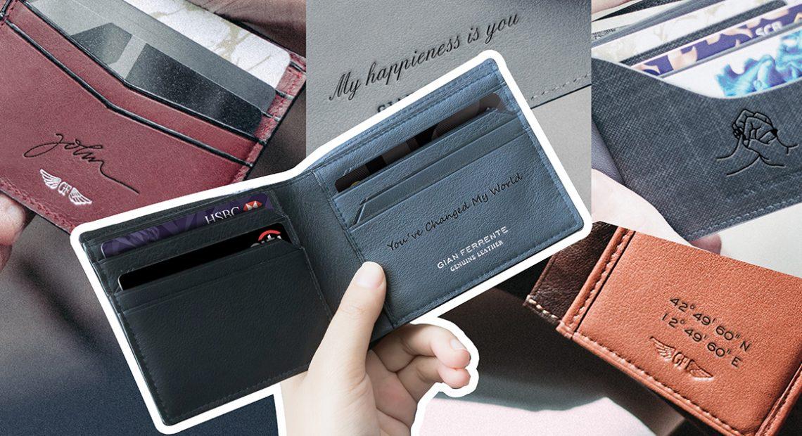 5 ไอเดีย 'สลักกระเป๋าสตางค์' ให้มีชิ้นเดียวในโลก เพื่อคนพิเศษสำหรับวาเลนไทน์นี้