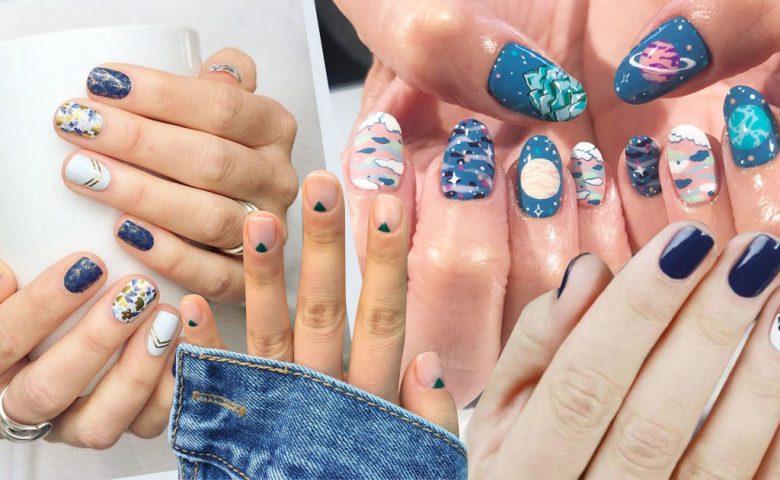 My Nail is BLUE รวมลายเล็บเอาใจสีฟ้า lover