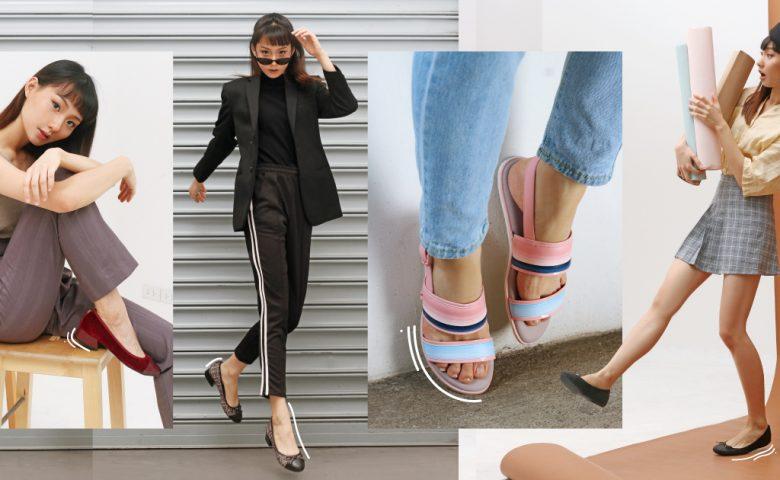 Twist Style ฉีกกฏแฟชั่นเดิมๆ แมทช์ลุคให้แตกต่างอย่างลงด้วยรองเท้า Butterfly Twists