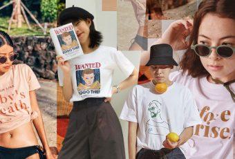 10 ร้านเสื้อยืดสไตล์มินิมอล ในไอจี ผู้หญิงใส่ได้ ผู้ชายใส่ดี!
