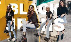 BLACK X JEANS คู่แมตช์คืนสู่ความเบสิค ที่ชิคได้ทุกซีซั่น