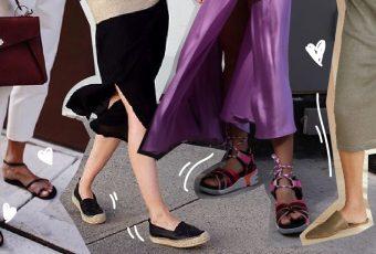 รองเท้า 4 สไตล์ ใส่สบาย ตอบโจทย์สายชิลช่วงซัมเมอร์