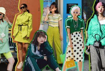 รวมลุคแฟชั่น เสื้อผ้าสีเขียว ชิค ๆ แบบไม่กั๊ก จัดไปเลย 10 เฉด!