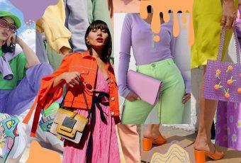 ไอเดียการแมทช์ colorful outfit ให้ออกมาสดใสสู้แดด