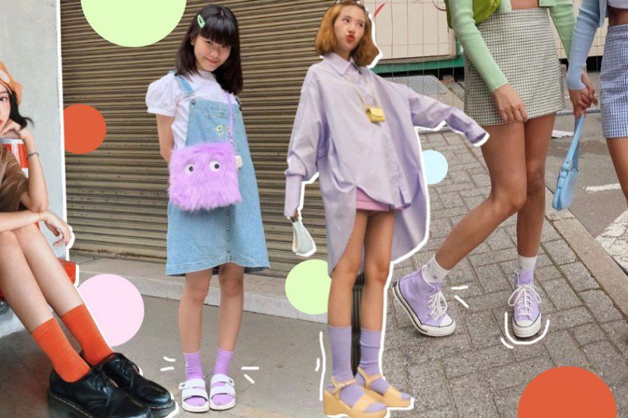 Socks Trend แมทช์ถุงเท้าให้เข้าลุค เพิ่มความเก๋ไก๋ ไม่ตกเทรนด์