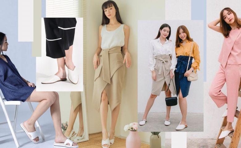 6 แบบรองเท้าผู้หญิงสุดมินิมอล แมทช์เข้ากับทุกสไตล์ ไม่มีตกเทรนด์!