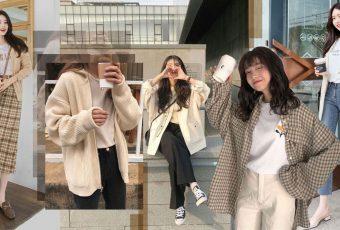 กันหนาวกันฝน 5 แบบ 5 สไตล์เสื้อคลุมแบบสาวเกาหลี