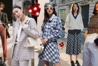 ไอเดียแมทช์ 'เสื้อผ้าลายสก็อต' ให้ดูเป็นสาวเกาหลี !