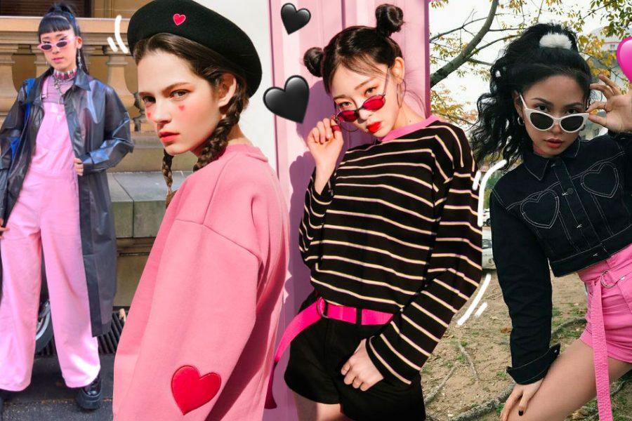 Black x Pink ชวนแมทช์ลุคชมพูดำ ได้ทั้งหวานได้ทั้งเท่!