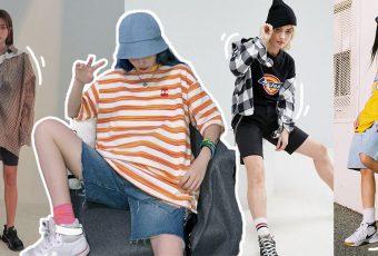ไอเดียแมทช์กางเกงขาสั้นสุดคูล อัพลุคเป็น Boyish Girl